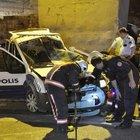 Kontrolden çıkan polis aracı kaza yaptı: 1 şehit, 2 yaralı