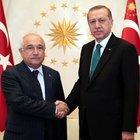 Cumhurbaşkanı Erdoğan ve Cemil Çiçek bir araya geldi