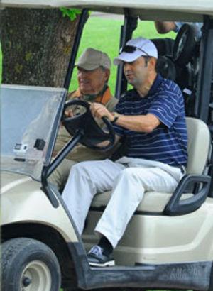 Heyecan dolu golf turnuvası