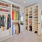 Düzenleriyle göz kamaştıran giyinme odaları
