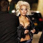 Rita Ora klip hazırlığında...