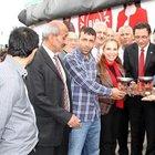 CHP'nin seçim TIR'ının durdurulmasına tepki