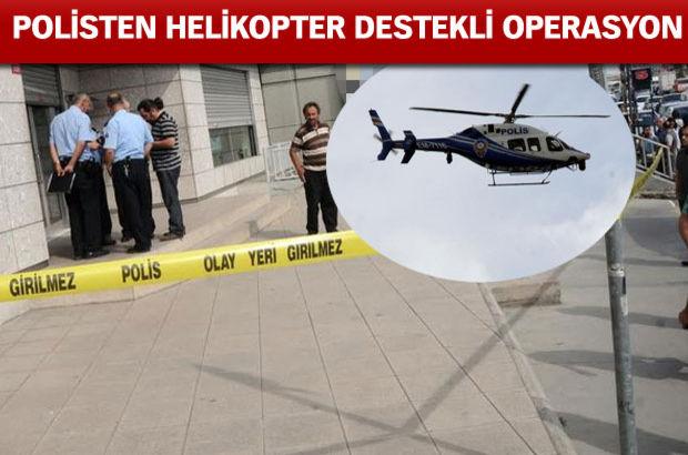 Silahlı banka soygunu: 1 yaralı
