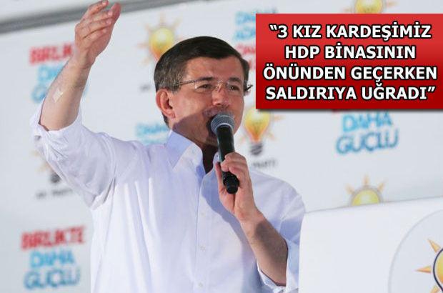 Başbakan Davutoğlu'ndan Van'da önemli açıklamalar