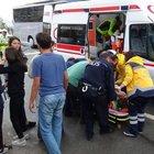 Giresun'da öğrenci servisi kaza yaptı: 11 yaralı