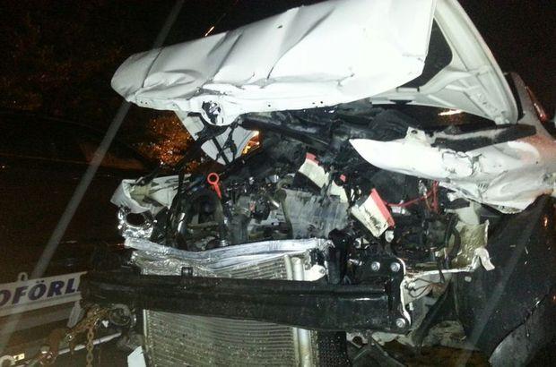 AK Parti'nin önemli ismi kaza geçirdi