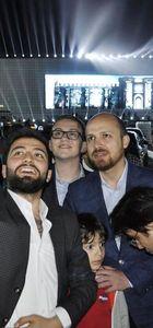 Vasip Şahin, Bilal Erdoğan, Kadir Topbaş Fetih Şöleni alanında