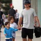 Orlando Bloom'un oğlu Flynn büyüdü