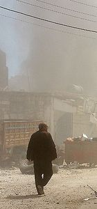 İdlib'e vakum bombalı saldırı