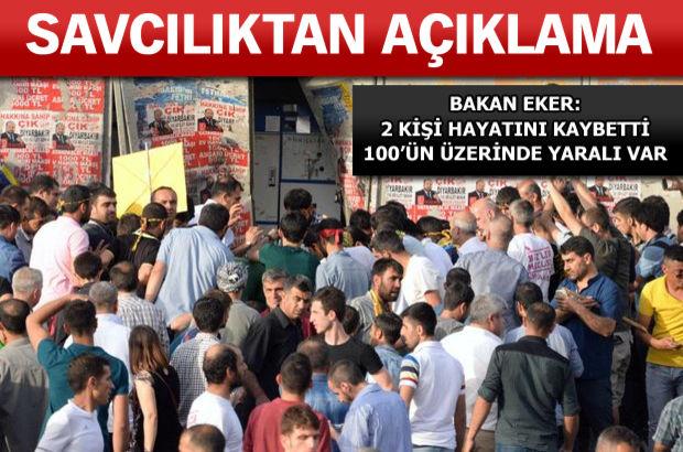 HDP mitingi patlama Diyarbakır
