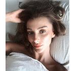 Olay yaratan yatak selfie'leri