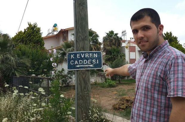 'Kenan Evren Caddesi'nin ismi değiştirildi