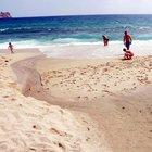 Alanya'daki mavi bayraklı plajda kurtçuk krizi çözüldü