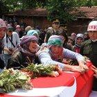 Şehit Uzman Çavuş Tayfun Meşe'nin cenazesi defnedildi
