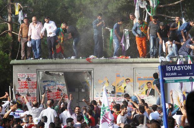 Diyarbakır'da HDP mitingindeki patlamada ölü sayısı 4'e yükseldi