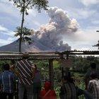 Endonezya'daki Sinabung Yanardağı'nda patlama