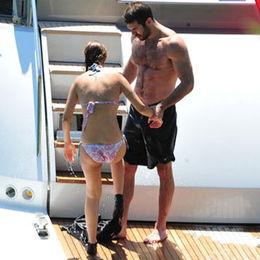 Bodrum'da aşka yelken açtı