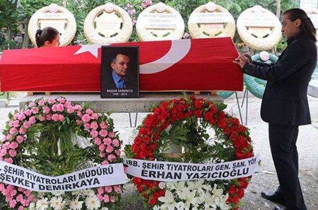 Usta tiyatro ve sinema yönetmeni Başar Sabuncu İstanbul'da toprağa verildi.