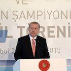 Cumhurbaşkanı Erdoğan, TİM Olağan Genel Kurulu'nda konuştu