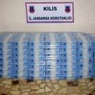 Kilis'te 40 bin paket kaçak sigaraya 11 gözaltı