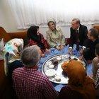 Cumhurbaşkanı Erdoğan işçi ailesiyle iftar yaptı