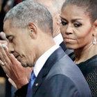 Obama kilise saldırısında ölenler için ilahi söyledi
