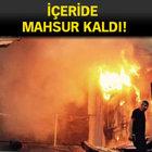 Aksaray'da AVM'de yangın: 1 ölü