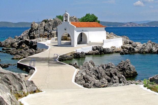 Kalbim Chios'ta kaldı