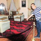 Atatürk'ün halısı müzayedede aranıyor
