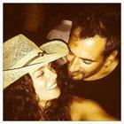 Özge Özpirinçci ile Burak Yamantürk'ten aşk pozu