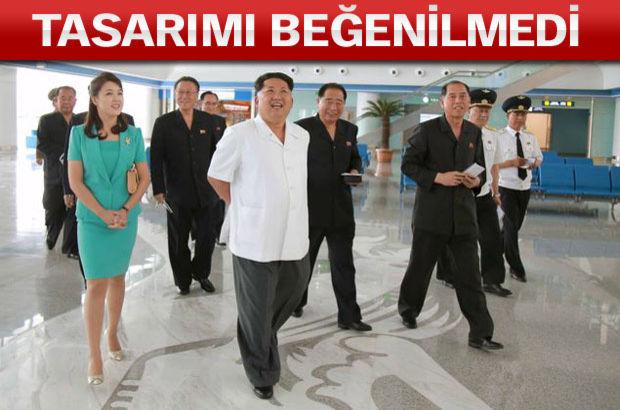 'Kim Jong yeni havalimanını yapan mimarı öldürttü' iddiası