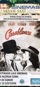 'Casablanca' gösteriminde boş sandalye yoktu