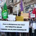 HDP'lilerden Yunanistan'a destek eylemi