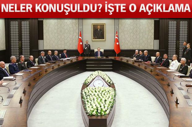 MGK toplantısı Cumhurbaşkanı Recep Tayyip Erdoğan Cumhurbaşkanlığı Sarayı