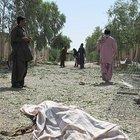 Afganistan'da emniyet müdürlüğüne bombalı saldırı