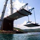 3'üncü köprünün 'kedi yolu' montajı tamamlandı