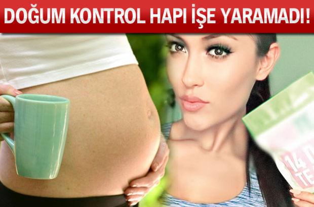 Doğum kontrol hapı kullanan kadın, zayıflama çayı içince hamile kaldı