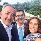 Aslantuğ çiftinin oğulları mezun oldu!