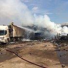 İzmir'de havai fişek fabrikasında yangın