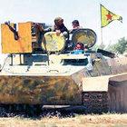 YPG, Esad'ın tankını ele geçirdi