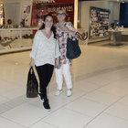 Fulya Terim ve Merve Terim Çetin'in alışveriş keyfi