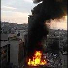 İzmir Bozyaka Eğitim ve Araştırma Hastanesi'nde yangın çıktı