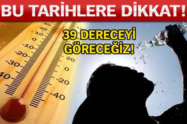 Türkiye, hava sıcaklığı, sıcak hava dalgası
