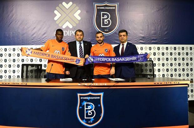 Başakşehir FK, Cenk Ahmet ve Musa Muhammed ile sözleşme imzaladı