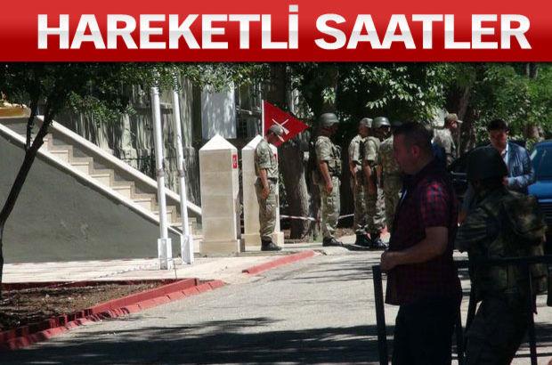 2'nci Ordu Komutanı Orgeneral Adem Huduti  Suriye sınırı Kilis