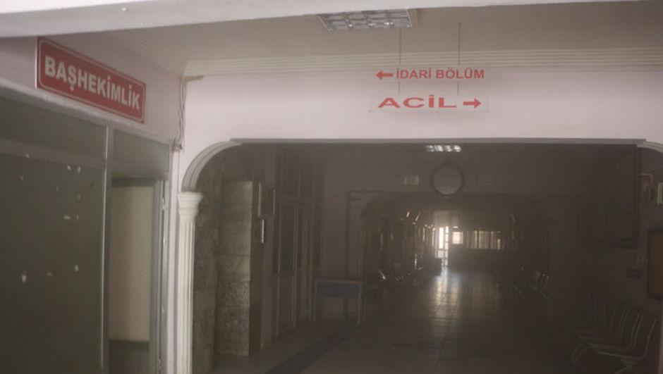 Şemdinli Devlet Hastanesi'nde yangın