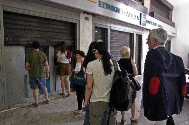 'Anlaşana kadar bankalar kapalı'