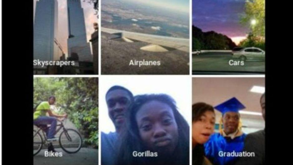 Google, yeni fotoğraf uygulamasında siyahi bir çifti