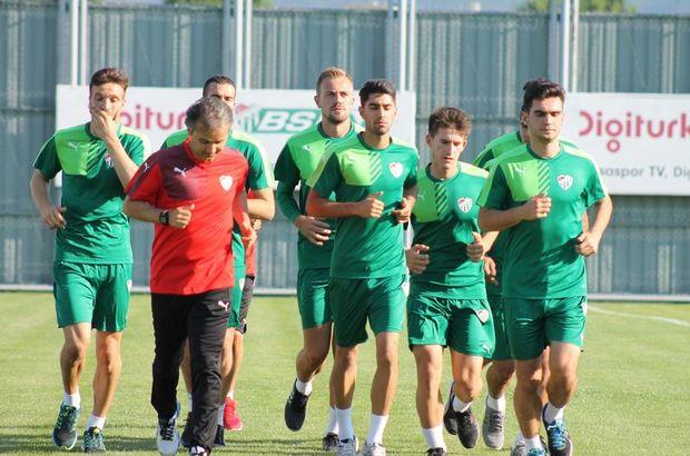 Bursaspor yeni sezon hazırlıkları