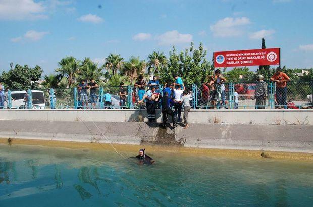 Mersin, DSİ kanalına düşen çocuk boğuldu